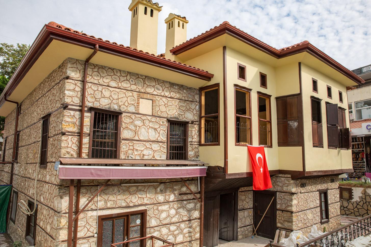 Huizen van Alanya