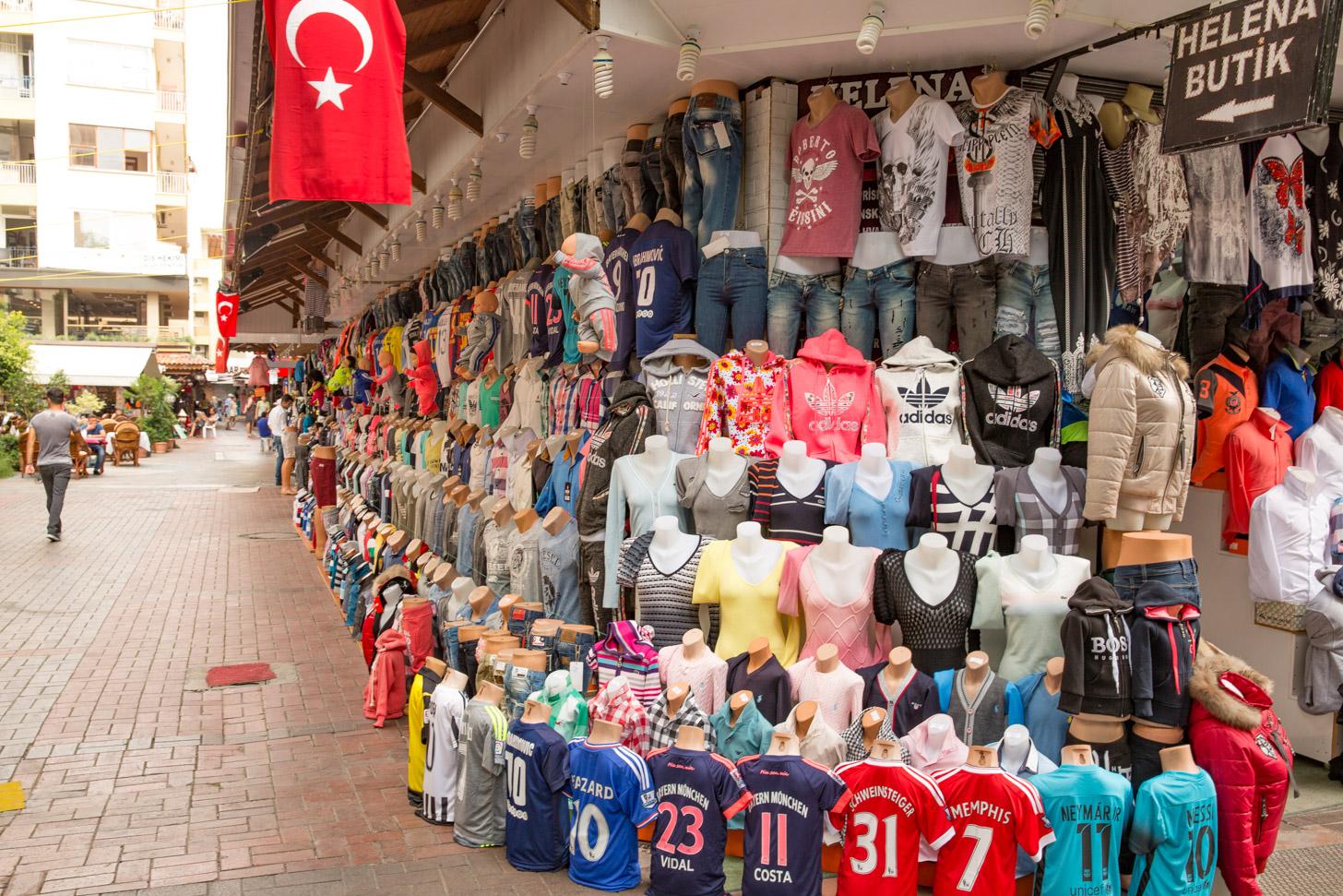 Winkelen in Alanya